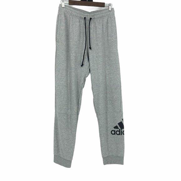 Adidas grey sweatpants loungewear pockets